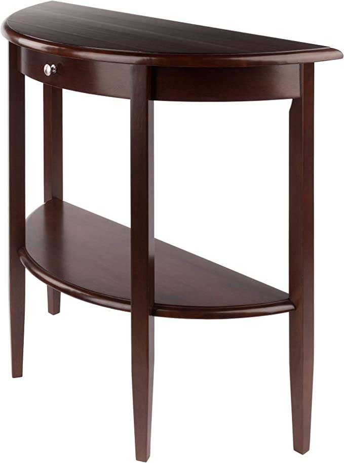 Winsome Wood Concord Occasional Table Antique Walnut Furniture Decor