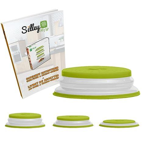 silley® Campana microondas retráctil & # x2605; Tapa plegable para microondas – saturación Minimal. – secar en lavavajillas