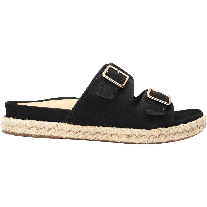 Vionic Womens Gia Slide Sandal Black Size 10 by Vionic