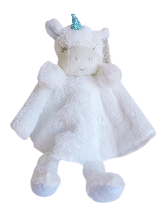 Süßes Schmusetuch Einhorn rund Schnuffeltuch Mädchen Junge Baby Schmusetier