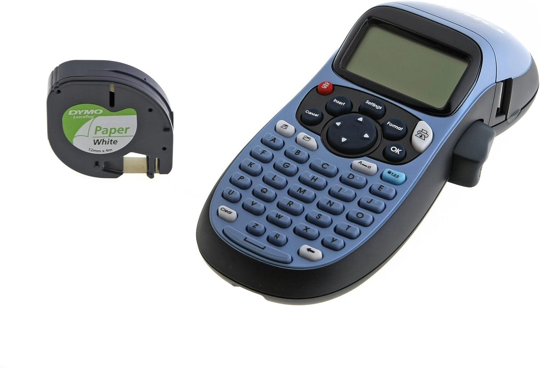 DYMO LetraTAG XR - Impresora de Etiquetas (Azul, Gris, LCD, AA ...