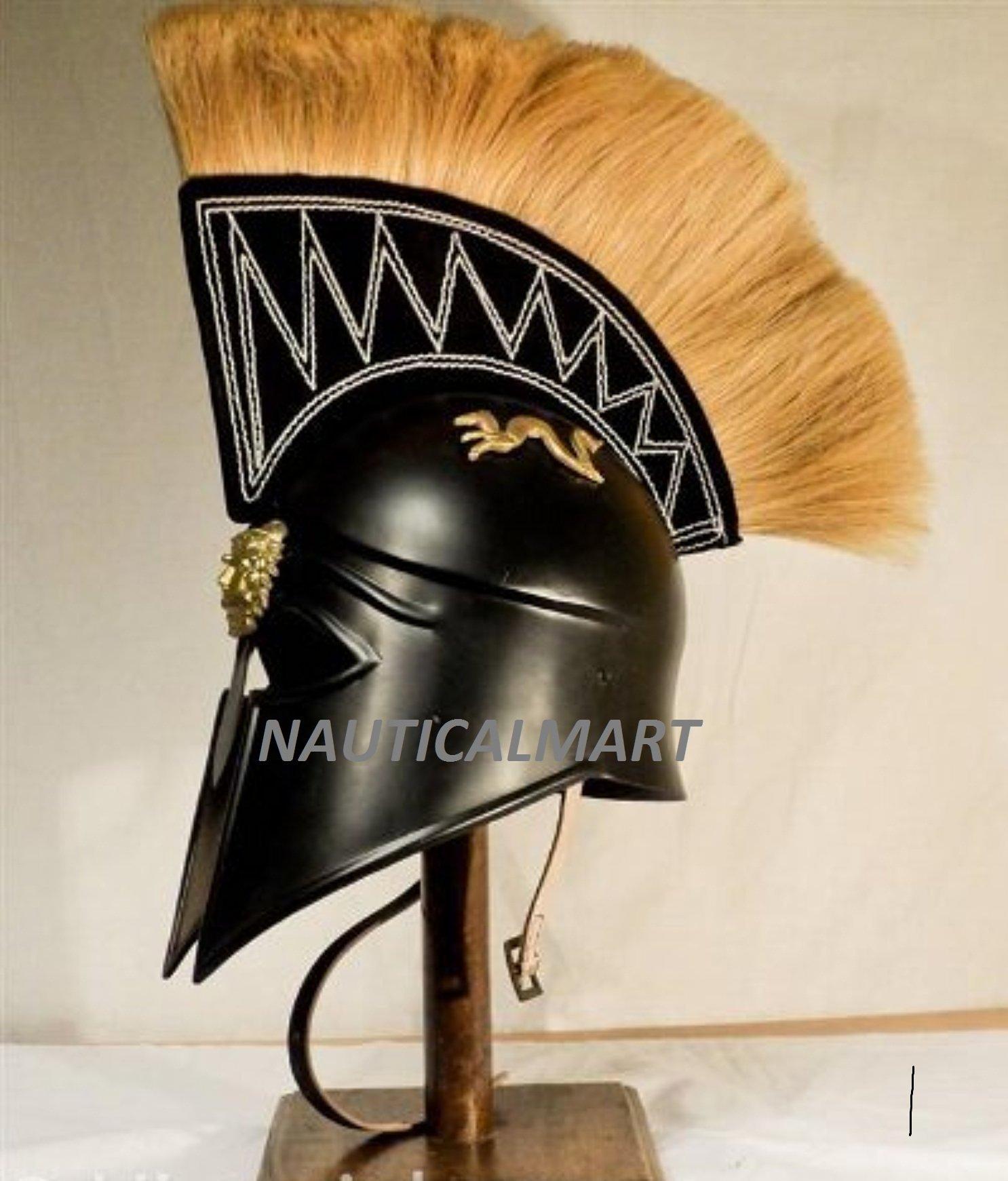 Royal Spartan Helmet By Nauticalmart by NAUTICALMART