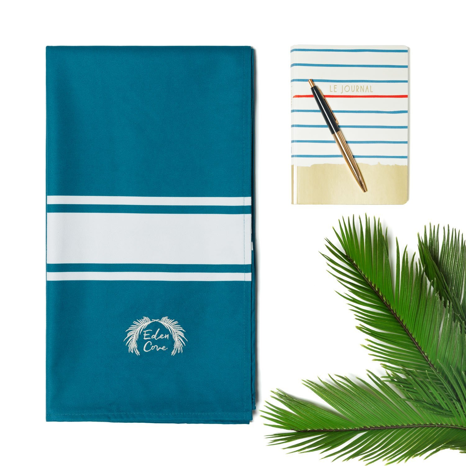 "Quick Dry Travel Towel /& Canvas Bag Travel Fast Drying Compact Absorbent Sports. Large 55x28/"" /& Extra Large 71x39/"" Eden Cove Microfiber Beach Towel Gym Swimming Lightweight for Beach"