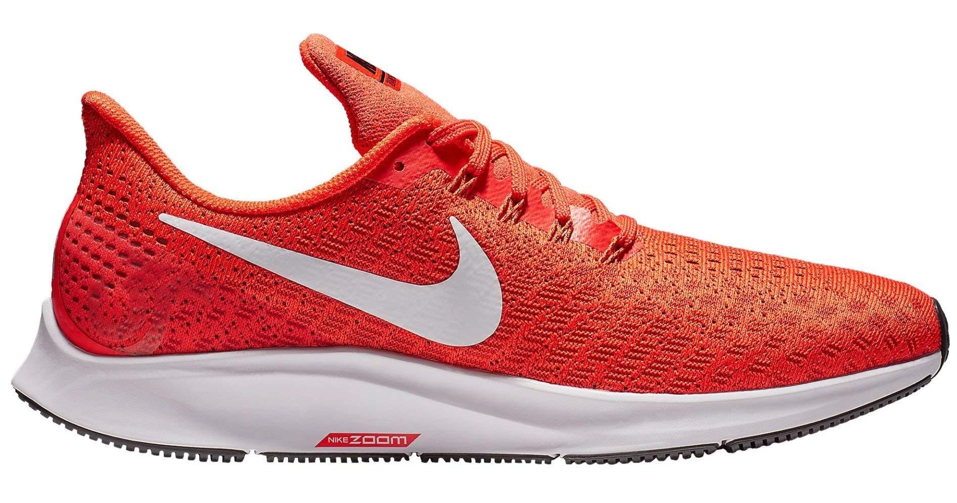 Nike Men's Air Zoom Pegasus 35 Running Shoe Orange/White/Black