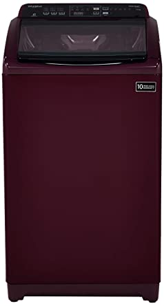 Whirlpool 7 kg Fully-Automatic Top Loading Washing Machine (WHITEMAGIC ELITE, Wine)
