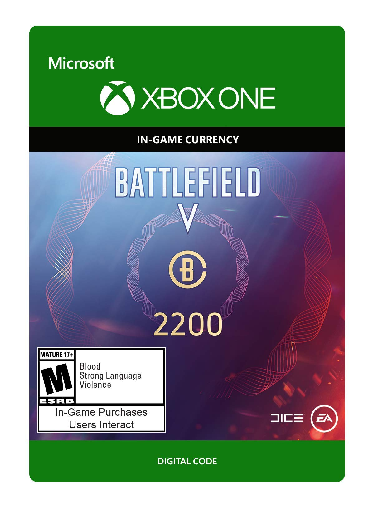 Battlefield V: Battlefield Currency 2200 - Xbox One [Digital Code]