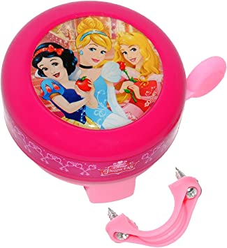 Timbre de la princesa - timbre de bicicleta para niña Princesa bella de las princesas Disney fahrradzubehör timbre 2, color indicado, tamaño 2. Wahl - Ohne Name: Amazon.es: Juguetes y juegos