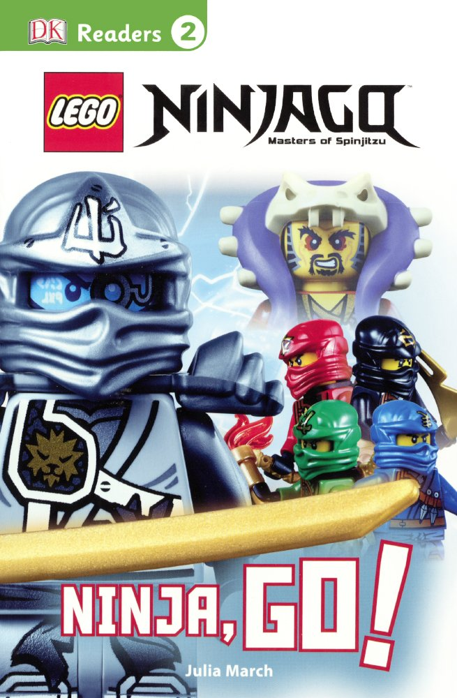 Amazon.com: LEGO Ninjago: Ninja, Go! (Turtleback School ...