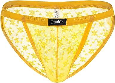 Yellow See Throgh Panties