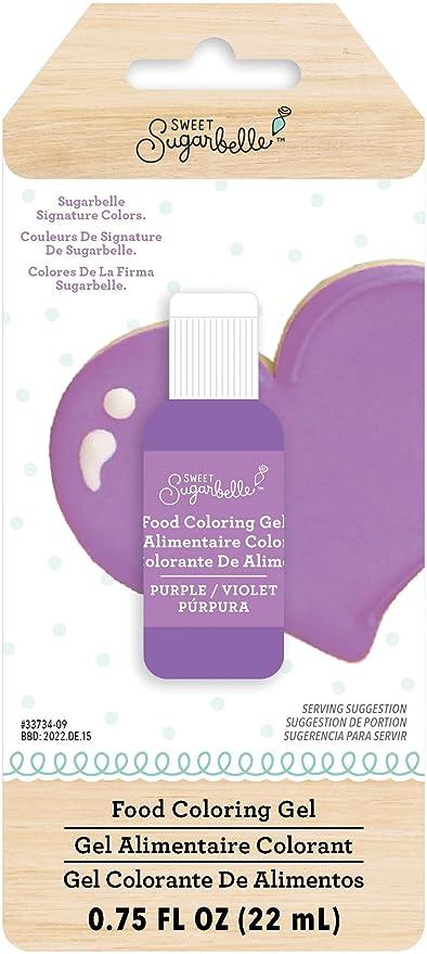 Amazon.com: Sweet Sugarbelle 345546 Purple Gel Food Coloring ...