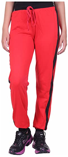 DFH Women's Relaxed Fit Track Pants Women's Sports Trousers at amazon