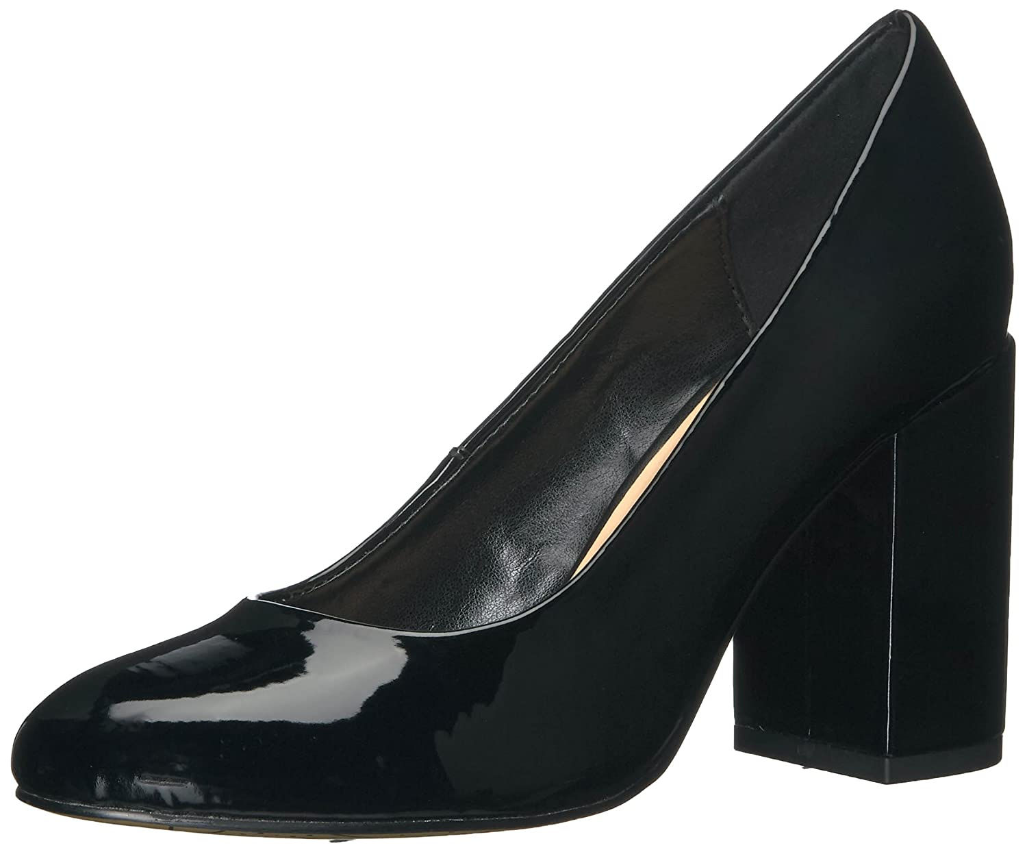 Bella Vita Women's Nara Ii Dress Pump B01N1VD778 8 2W US|Black Patent