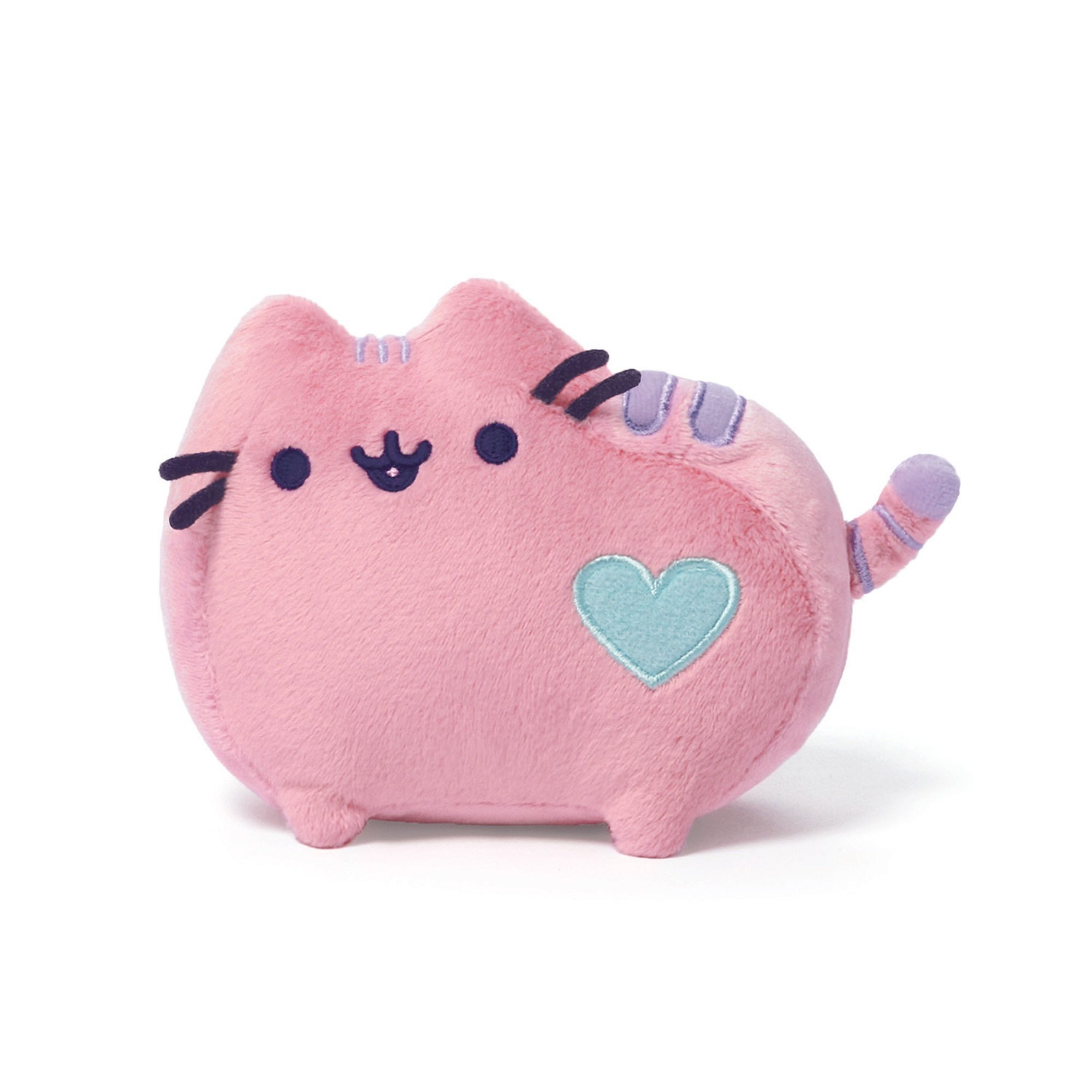 GUND Pusheen Heart Pastel Cat Plush Stuffed Animal, Pink, 6'' by GUND
