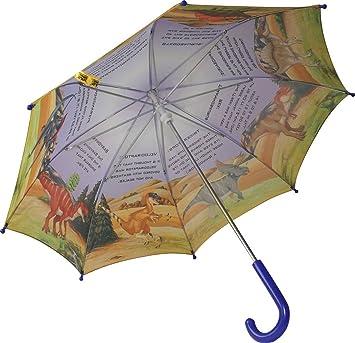 Wild Republic 86082 - Paraguas para niños (mensajes en inglés), diseño de dinosaurios