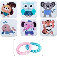 BuggyBands 120 Pack Mosquito Patches Stickers for Adult Kids, Resealable Stickers with 2Pack Mosquito Bracelet, Mosquito…