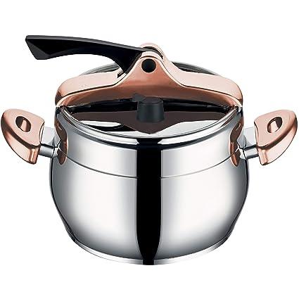 Bergner Infinity Chef Olla a presion, Acero Inoxidable, Plateado, 22 cm