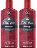 Old Spice Swagger 2 in 1 Shampoo and Conditioner, 12 Ounce, Pack of 2