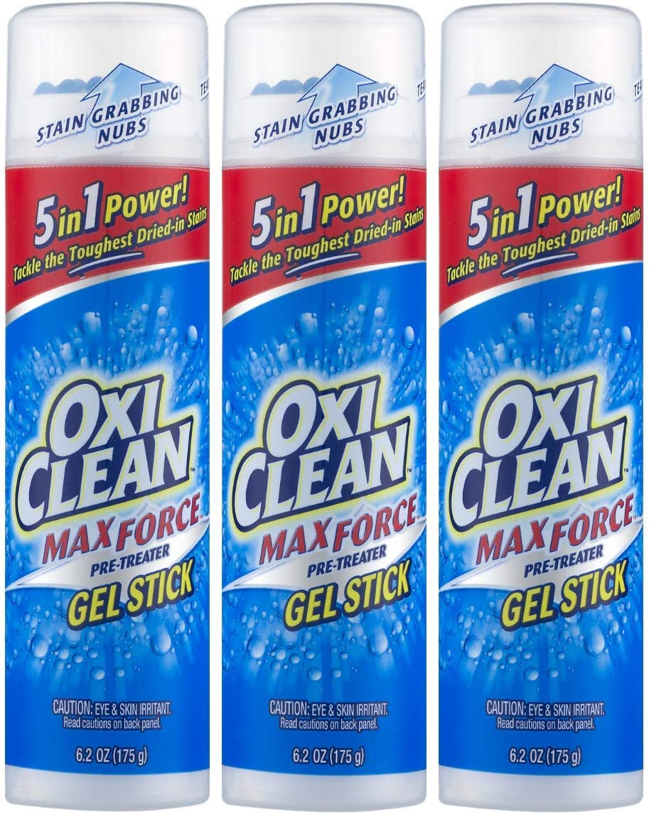 OxiClean Max Force Gel Stick, 6.2 Oz (3-Pack)