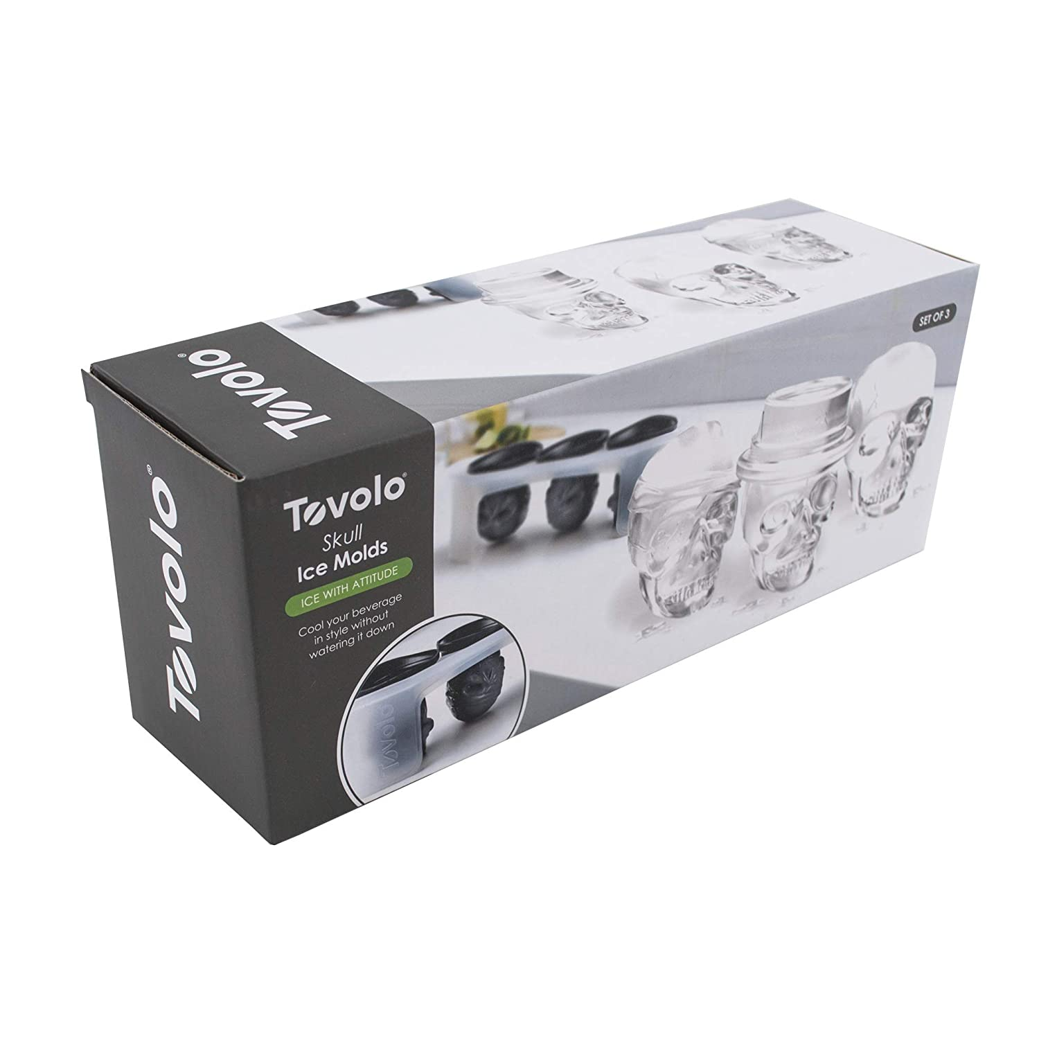 Tovolo Colossal Cube Ice Moulds Set of 2 Ice Cube Makers