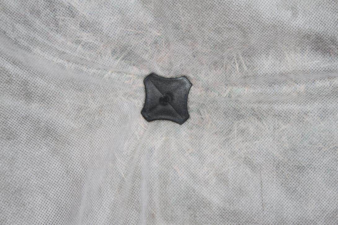 HaGa/® PP-N/ägel Kunststoffanker Erdnagel f/ür Unkrautvlies Bodengewebe 20cm 25 St.
