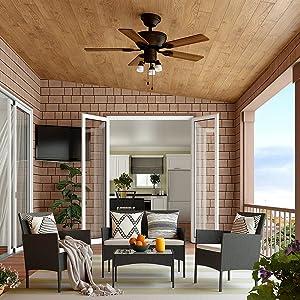 Cloud Mountain 4 Piece Patio Furniture Sets Outdoor Conversation Set Pool Backyard Lawn Use, Black Wicker & Beige Cushions