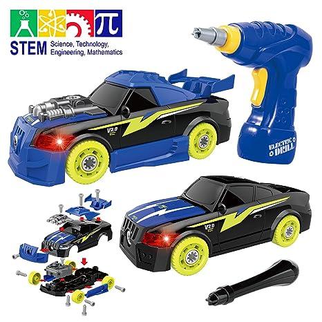 Amazon Com Gilobaby Take Apart Racing Car Stem Toys 26 Pieces