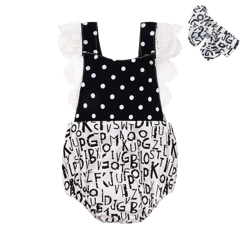 生まれのブランドで scfcloth新生児幼児赤ちゃん女の子ロンパースヴィンテージレースOne 24 Piece用フリル付き服装スーツwithヘッドバンド( 0 - Months 24 Months ) B0713TFP52 ブラック+ホワイト 3 0 - 3 Months, 泉北郡:aa51143a --- svecha37.ru