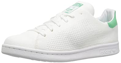 adidas Originals Men's Shoes | Stan Smith PK Sneakers, White/Green Glow, (