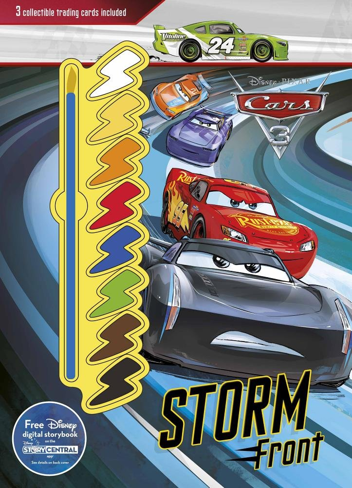 Disney Pixar Cars 3 Storm Front Collectible Trading Cards Included Deluxe Paint Palette Parragon Publishing 9781474883795 Amazon Books