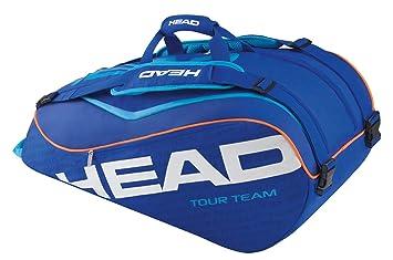 0805a06fea HEAD Tour Team Sac de 9 Raquettes de Tennis Mixte Adulte, Bleu ...