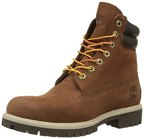 timberland homme rouge