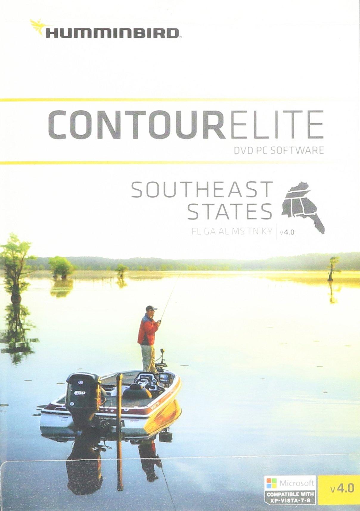 Humminbird Lakemaster 600024-4 Contour Elite- Southeast States Boating Chartplotters (Apr '16)