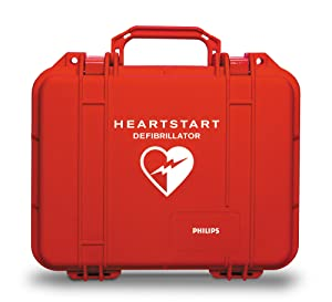 Philips HeartStart AED Defibrillator Plastic Waterproof Carry Case
