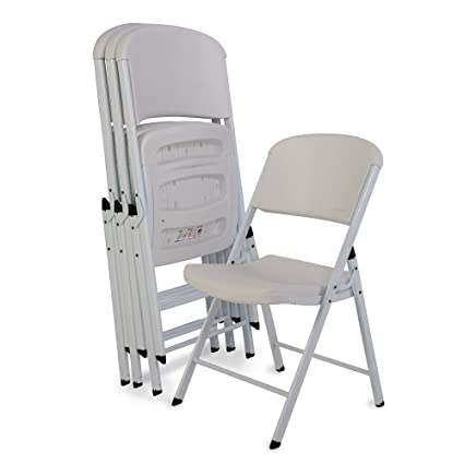 1d58bb6727321 Image Unavailable. Image not available for. Color  Lifetime 80359 Classic Commercial  Grade Folding Chair ...