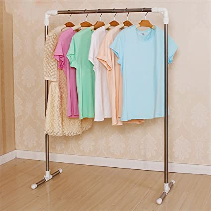 Amazon.com: coat rack Single pole coat rack floor stainless ...