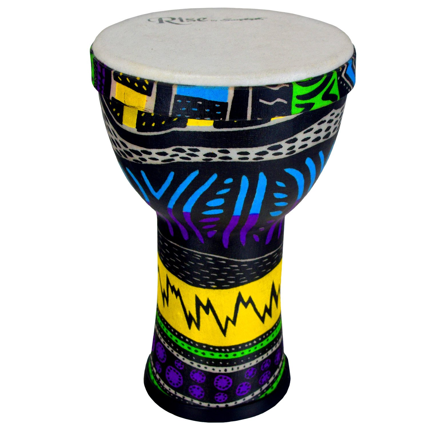Sawtooth Rise Jamaican Me Crazy Pretuned 6'' Djembe, ST by Sawtooth