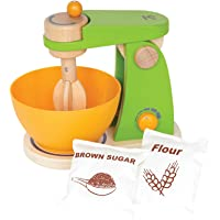 Hape Mighty Mixer Wooden Play Kitchen Set w/ Accessories