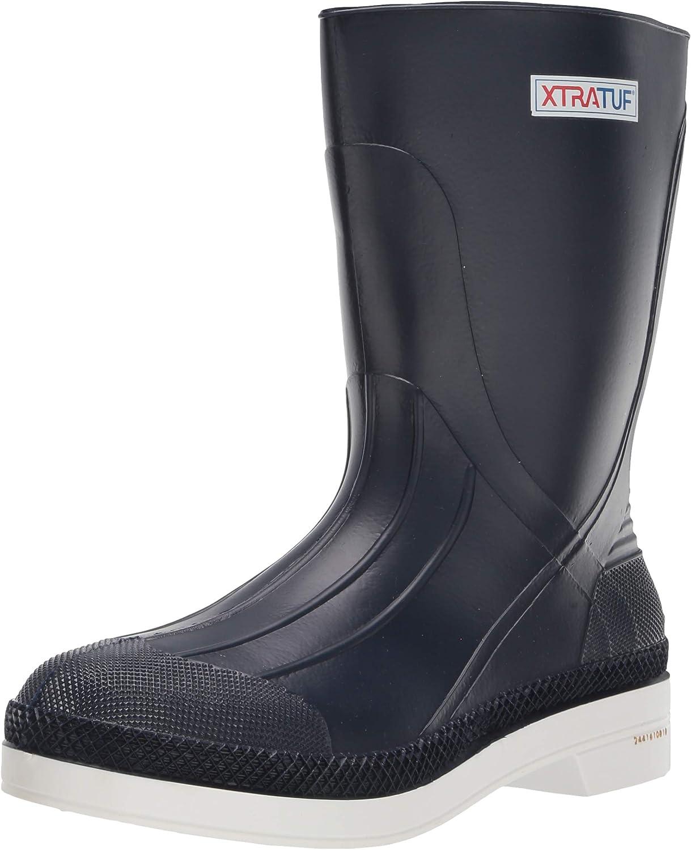 """XTRATUF 13"""" Men's PVC Shrimp Boots, Navy (75137)"""