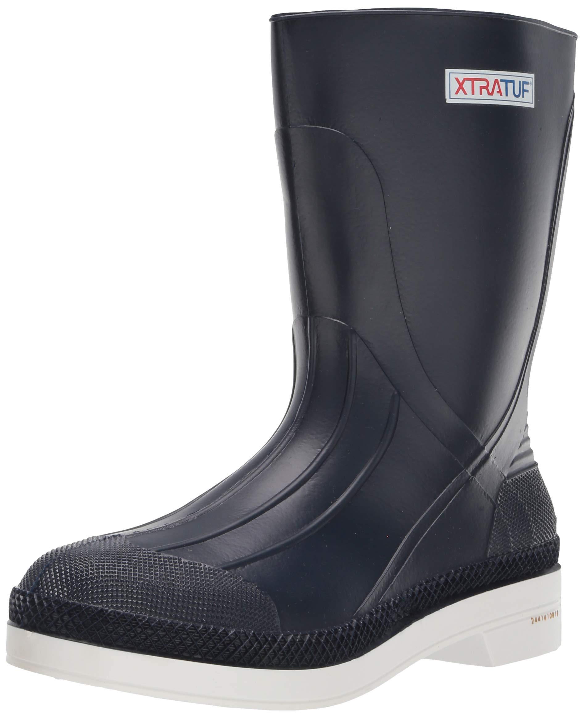XTRATUF 11'' Men's PVC Shrimp Boots, Navy (75137) by Xtratuf