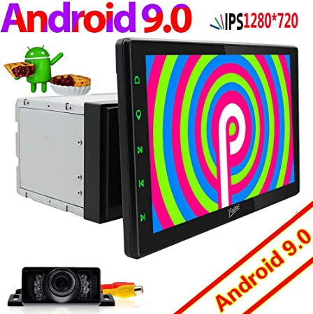 Large 10 1 Inch Display Android 9 0 Nougat System Car Elektronik