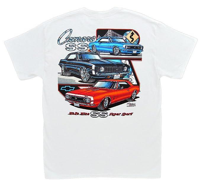 Amazon Com Hot Shirts Make Mine Ss Camaro T Shirt Z 28 Rs