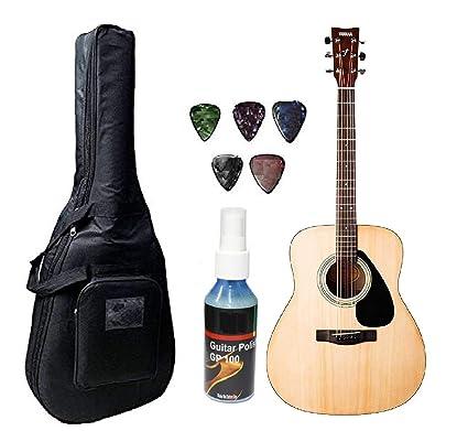 258d35d37e2 Yamaha F310 Acoustic Guitar - Natural Bundle: Amazon.in: Electronics