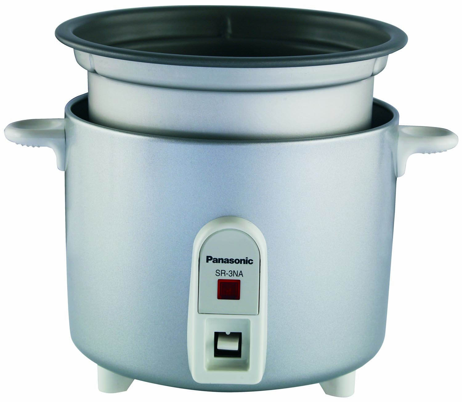 Panasonic SR-3NA Automatic 1.5 Cup (Uncooked)/3 Cups (Cooked) Rice Cooker by Panasonic (Image #1)