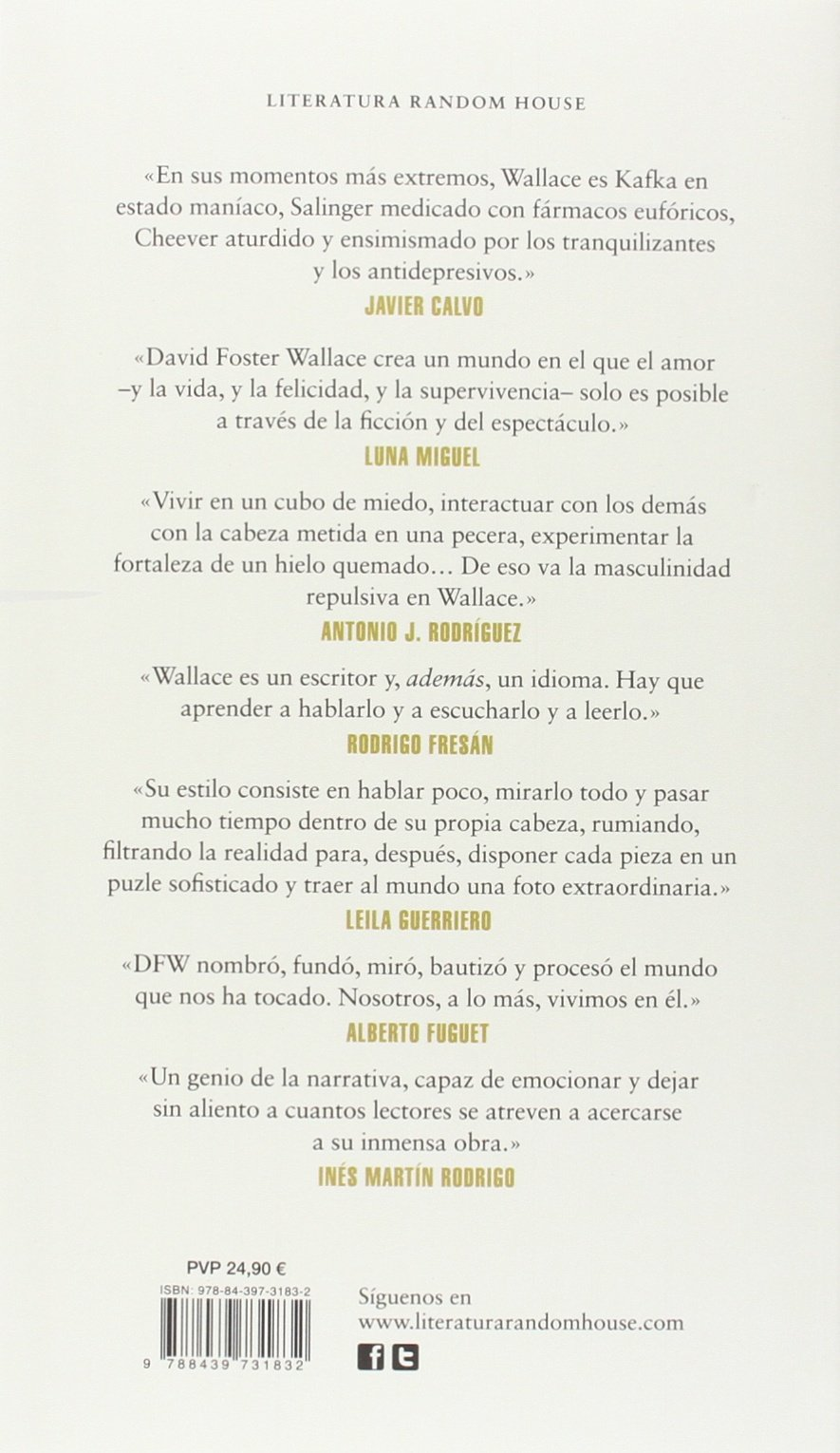 David Foster Wallace Portatil / Portable David Foster Wallace (Spanish Edition): David Foster Wallace: 9788439731832: Amazon.com: Books