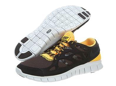 buy popular 2caa3 0b16d Nike Free Run 2 EXT black   orange running trainers 537732 008  UK ...