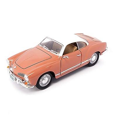Yat-Ming 1966 Volkswagen Karmann Ghia 1/18 Coral: Toys & Games