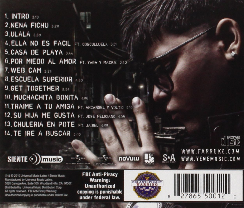 cd completo de farruko el talento del bloque