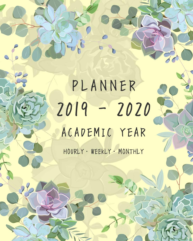 Amazon.com: Planner 2019-2020 Academic Year: 8x10 Weekly ...