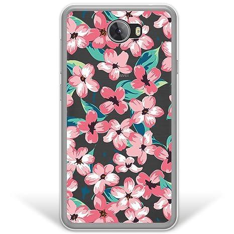 WoowCase Funda Huawei Y6 II Compact, [Hybrid ] Flores ...