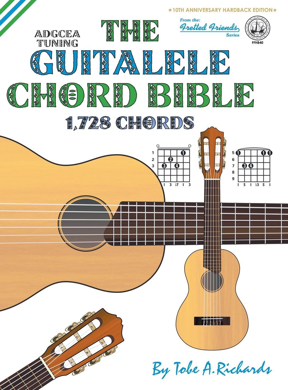 Amazon The Guitalele Chord Bible Adgcea Standard Tuning 1728